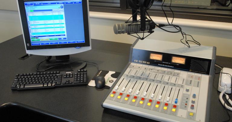 Hope College Martha Miller Center - Radio Booth