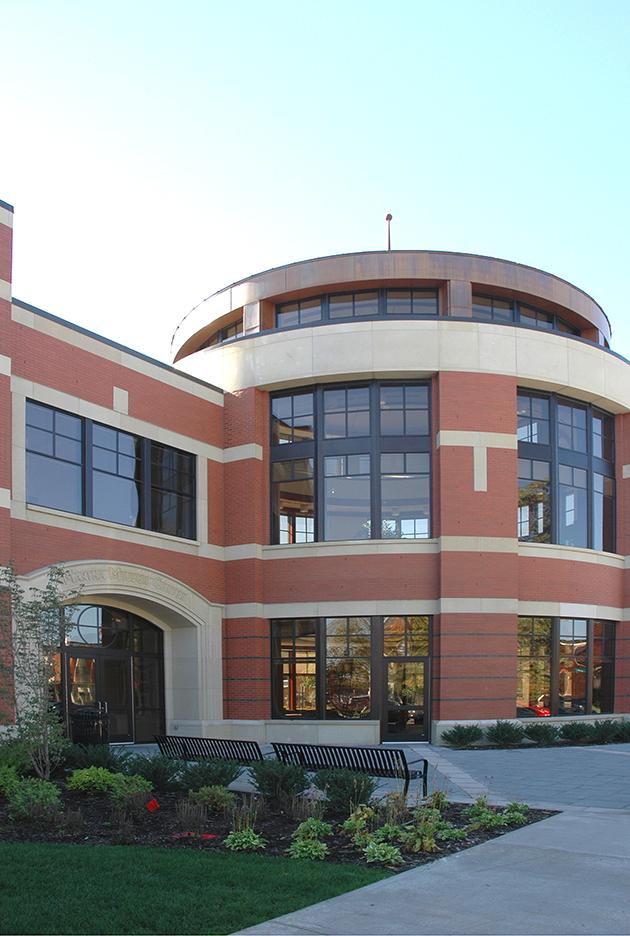 Hope College Martha Miller Center - Rotunda Exterior