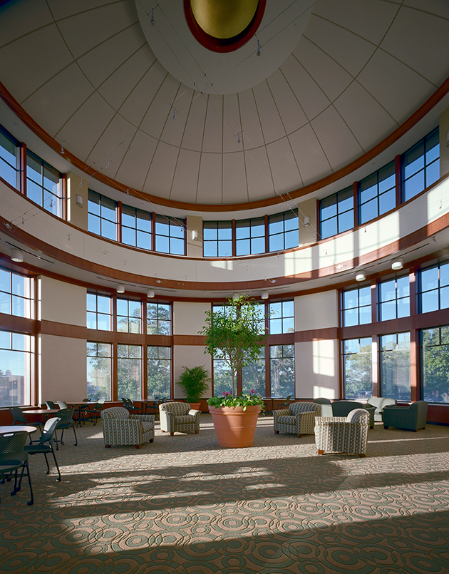 Hope College Martha Miller Center - Rotunda Lobby