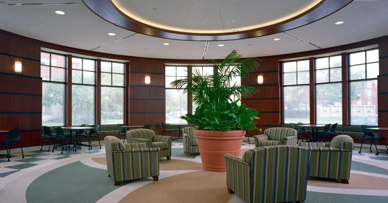 Hope College Martha Miller Center - Rotunda Lounge