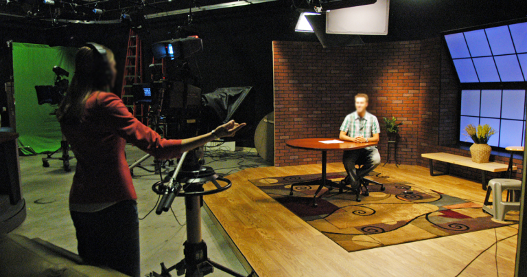 Hope College Martha Miller Center - TV Production