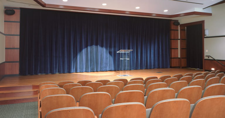Hope College Martha Miller Center - auditorium