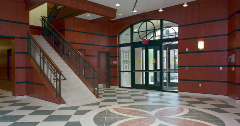 Hope College Martha Miller Center - rotunda entrance