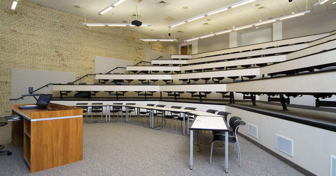 Cooley Law School Case Room