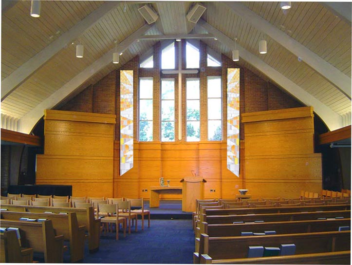 Calvin Seminary Chapel Easter