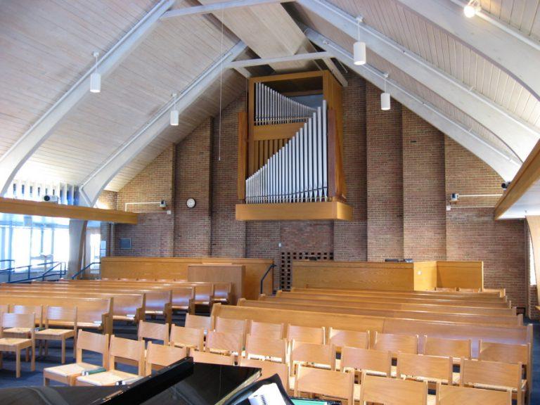 Calvin Seminary Chapel rear