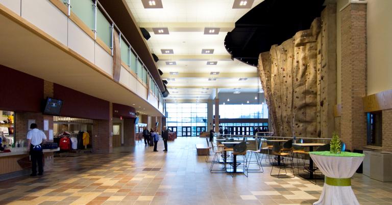 Calvin College Spoelhof Lobby