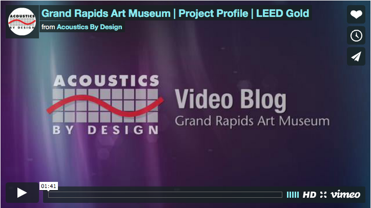 Video Blog | Grand Rapids Art Museum | Project Profile