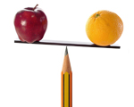 Apples, Oranges, and Sharp Pencils
