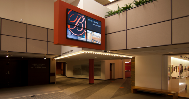 Berman Center for the Performing Arts Lobby