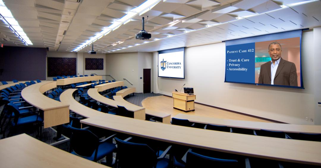 Concordia School of Pharmacy Classroom