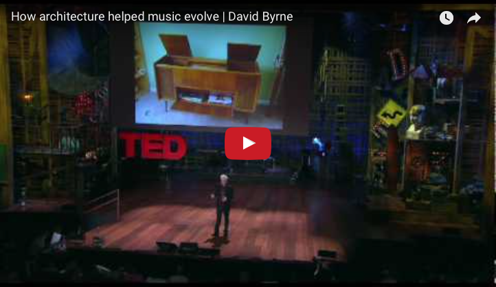 David Byrne of Talking Heads Talks About Acoustics