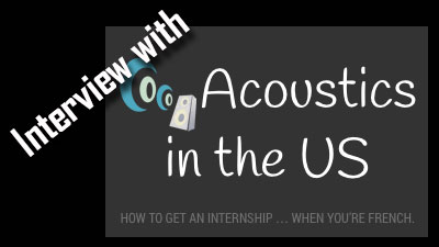 Interview – Acoustics in the US