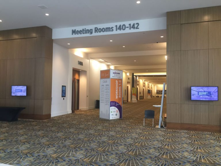 Cobo L2 meeting rooms