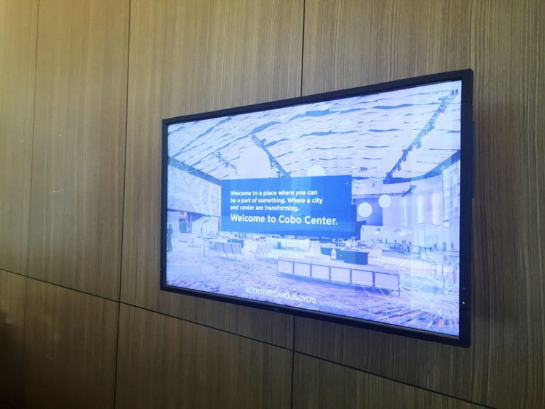 Cobo Digital Signage