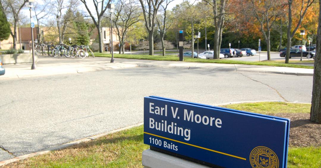 University of Michigan School of Music Earl V. Moore Building