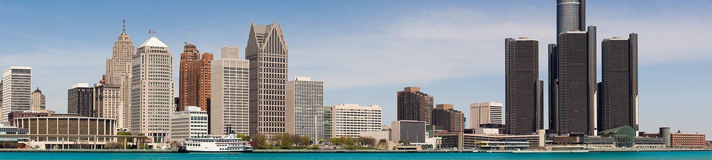 Detroit, Mi - Skyline