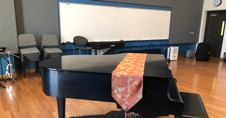 GVSU Haas PAC Piano Room