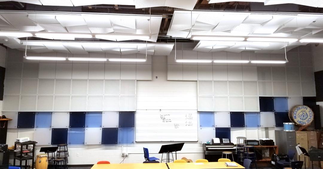 Woodburn High School Band Room