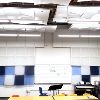Woodburn High School Band Room