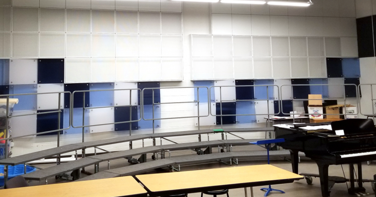 Woodburn High School Chorus Room