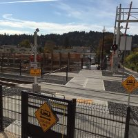 TriMet warning bells crossing