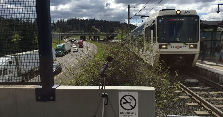 TriMet warning bells measurement