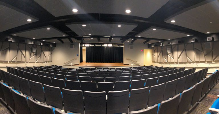 Hope Bultman Student Center Movie Theater
