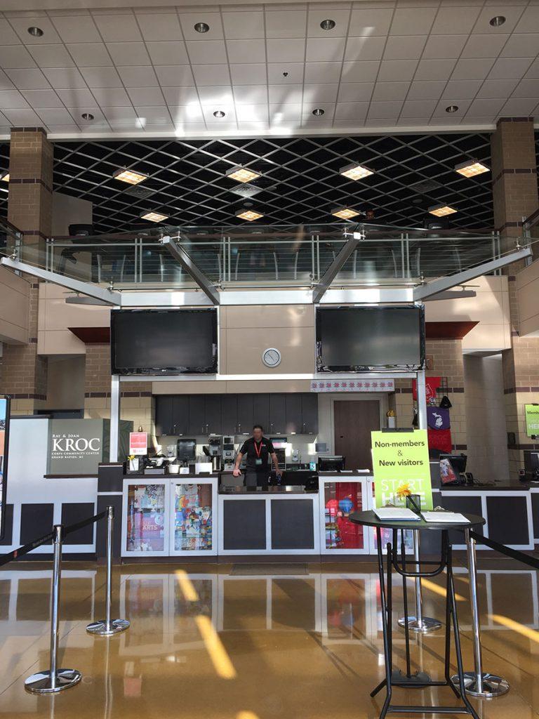 Salvation Army Kroc Center interior