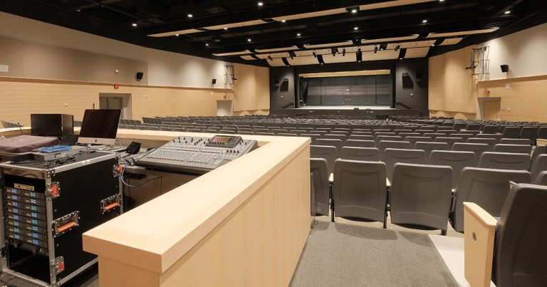 Sam Barlow High School Auditorium