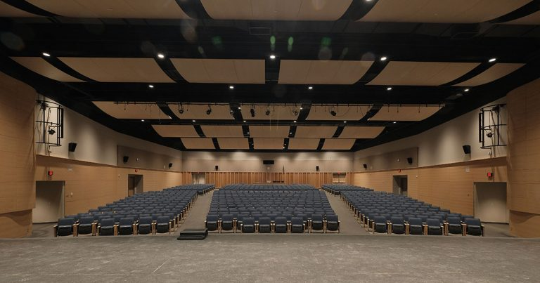 Sam Barlow High School Auditorium Stage