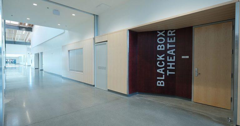 Sam Barlow High School Black Box entrance