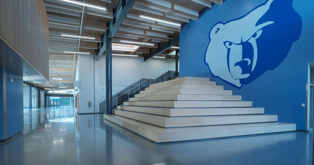 Sam Barlow High School Grand Stair 1