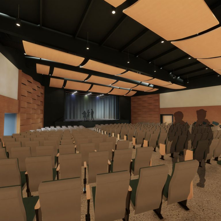 Sam Barlow High School - Auditorium