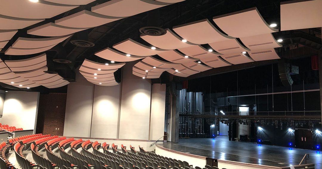 Winston Churchill High School Auditorium