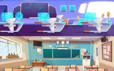 Classroom Display Technology