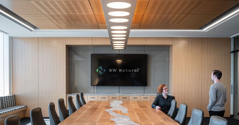 NW Natural Headquarters Conference Room