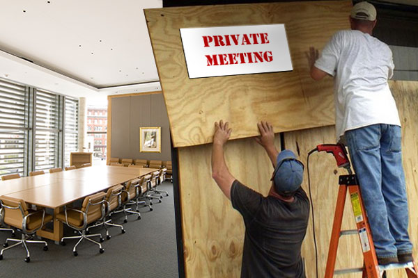 Boarding up the Board Room – Speech Privacy