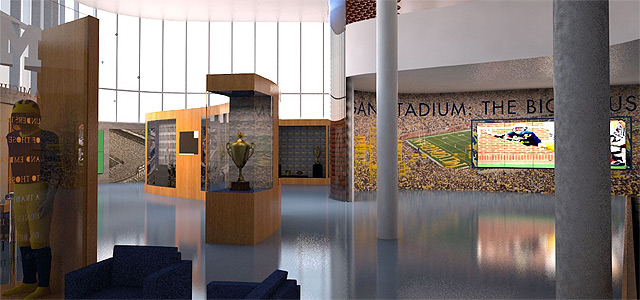 University of Michigan Renovated Schembechler Hall