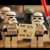 Happy Star Wars Day - May The 4th Be With You!